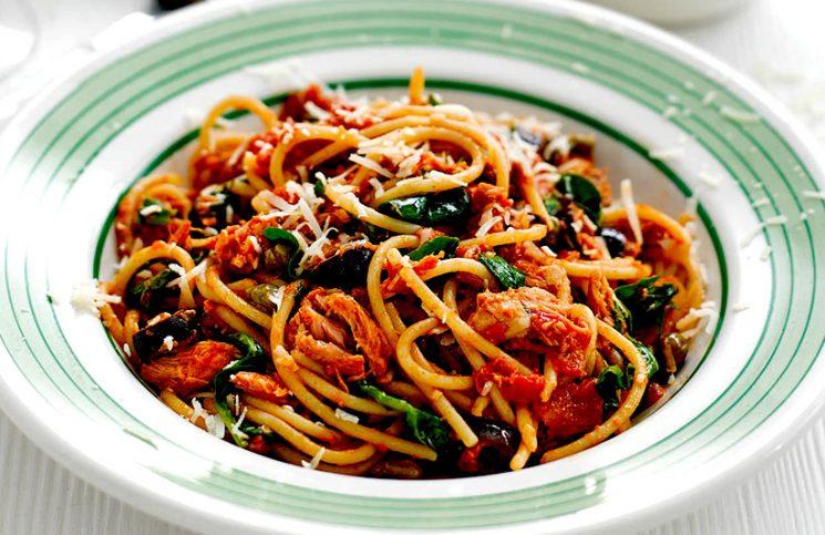 spagetti tonhalas